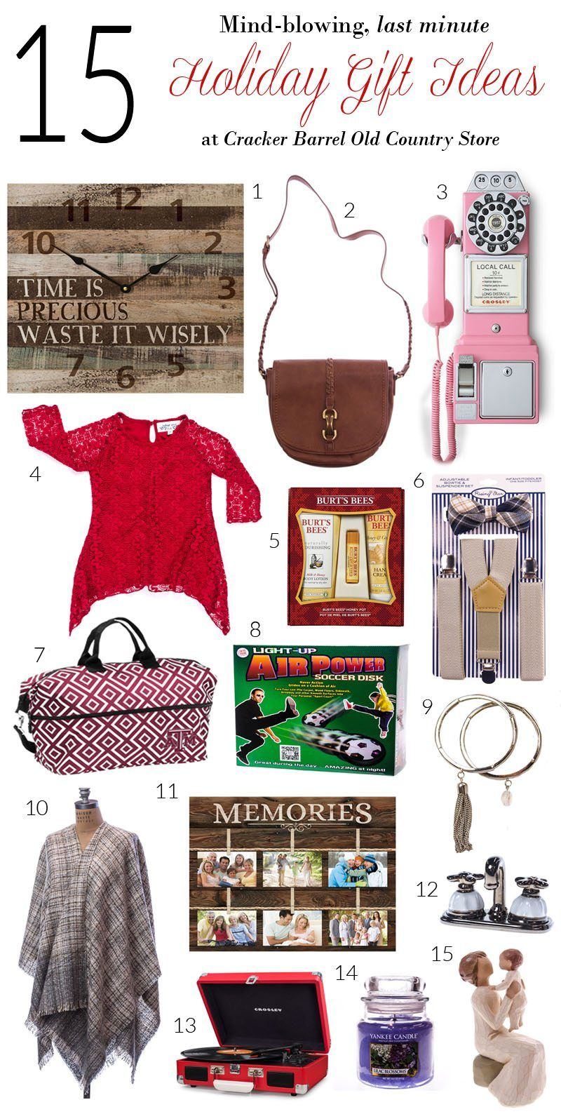 15 Last Minute Holiday Gift Ideas at the Cracker Barrel ...