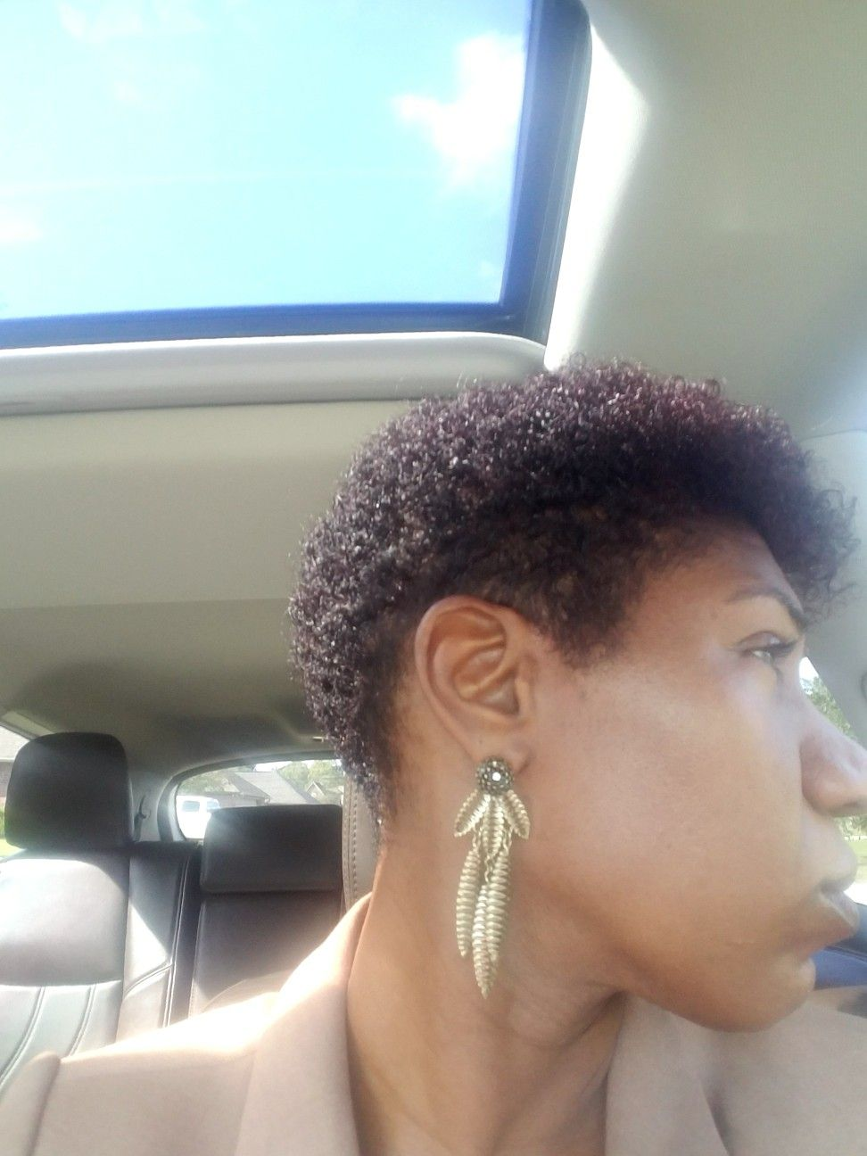 Tapered cut au naturalle pinterest