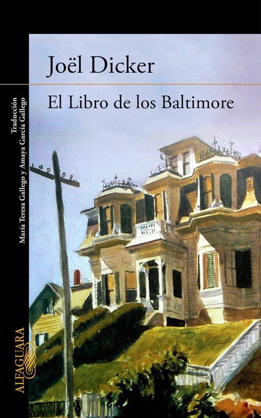 El libro de los Baltimore_Joel Dicker