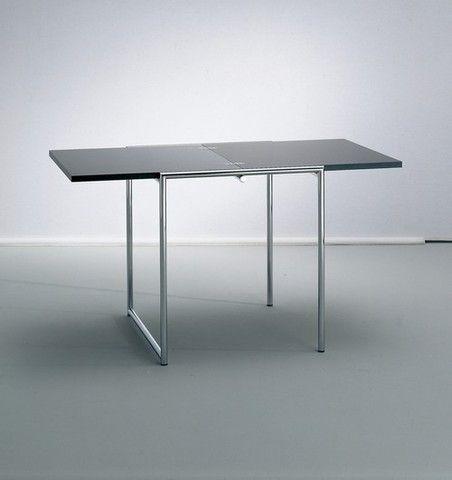 eileen gray square folding table french design pinterest rh pinterest com