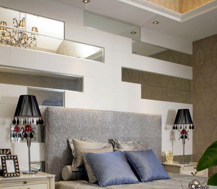 #schlafzimmer-wandgestaltung-spiegel-ausschnitte-wand ...