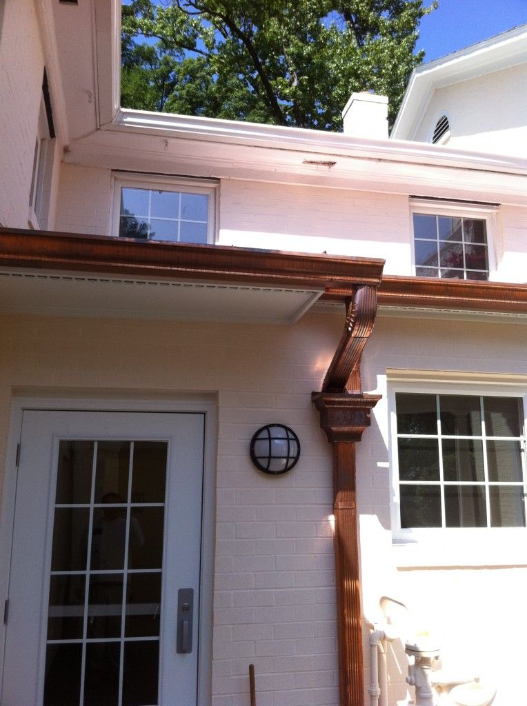 Copper Guttering Yes Please Copper Gutters Slate