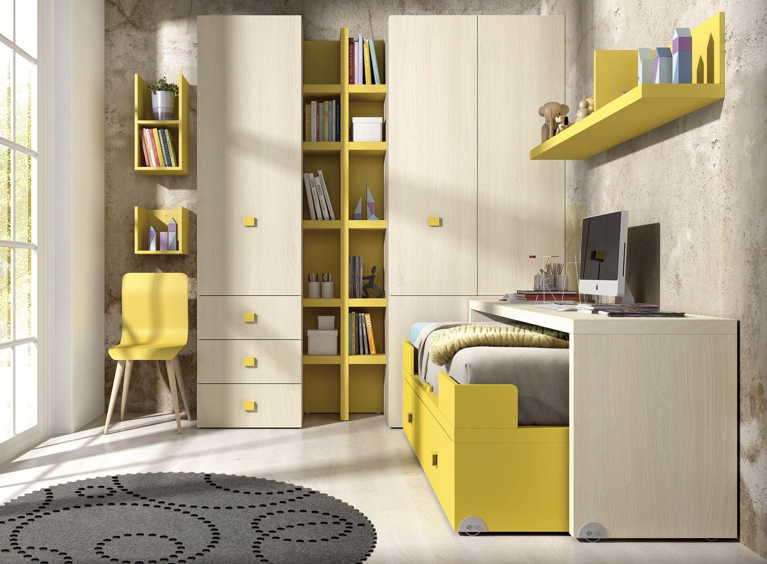 Estudiar Dormir Ordenar Todo En Uno Kazzano Pinterest  # Muebles Todo En Uno