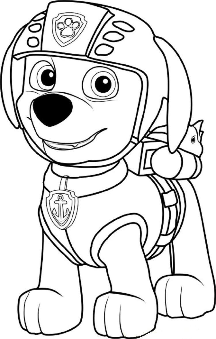 Zuma Paw Patrol Coloring Page Youngandtae Com Patrulha Canina Para Colorir Patrulha Canina Em Eva Desenhos Biblicos Para Pintar