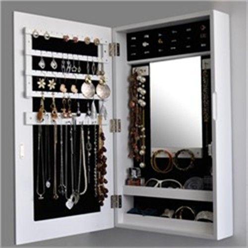 Mirrored Jewellery Cabinet, Mirrored Jewellery Cabinet Wall Mounted