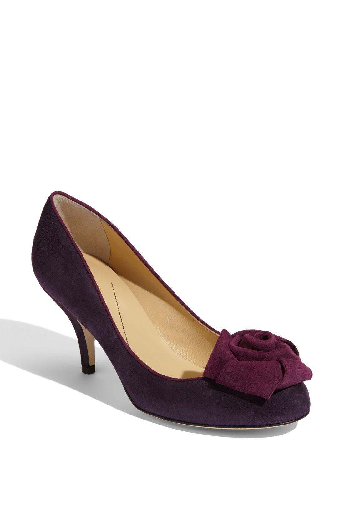 KATE SPADE Purple Bloom Pump