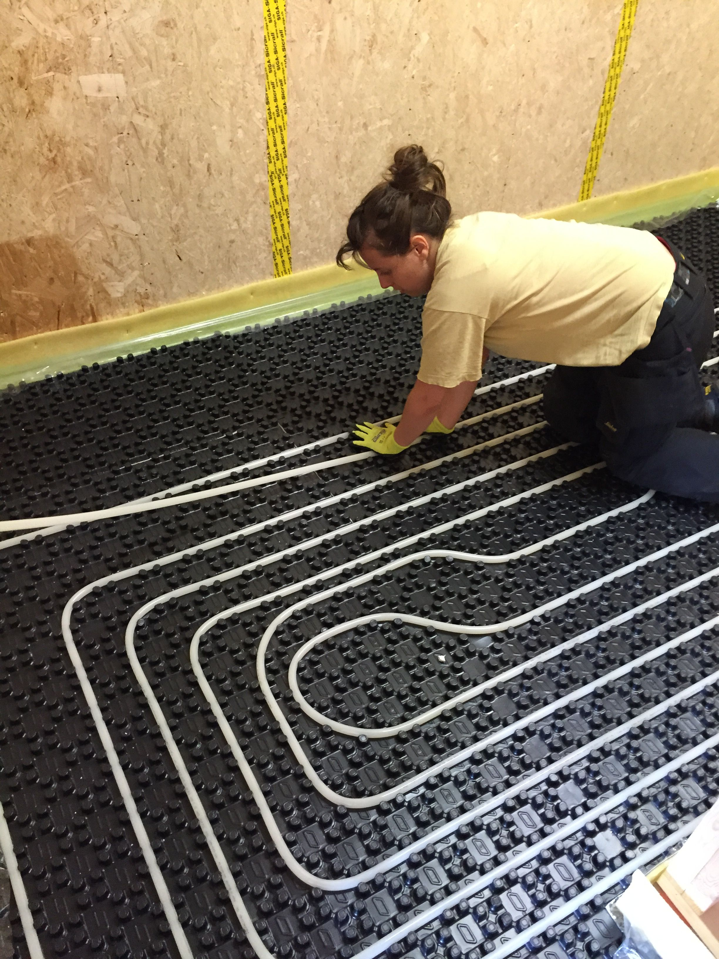Floor Heating System Systems Hydronic Heat