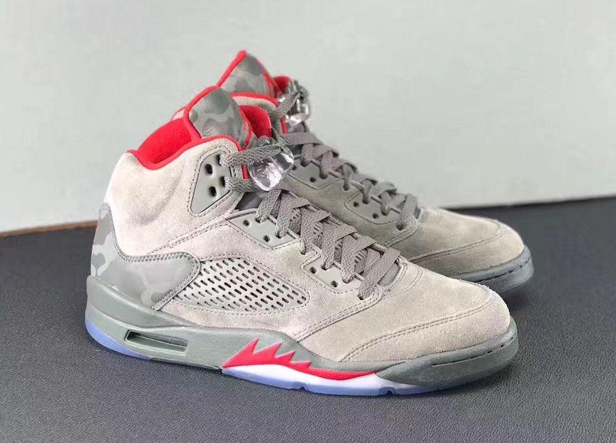 huge discount 2a1de ddb60 Buy 2015 Nike Air Jordan 5 Retro Fear Sequoia Fire Red Medium Ol