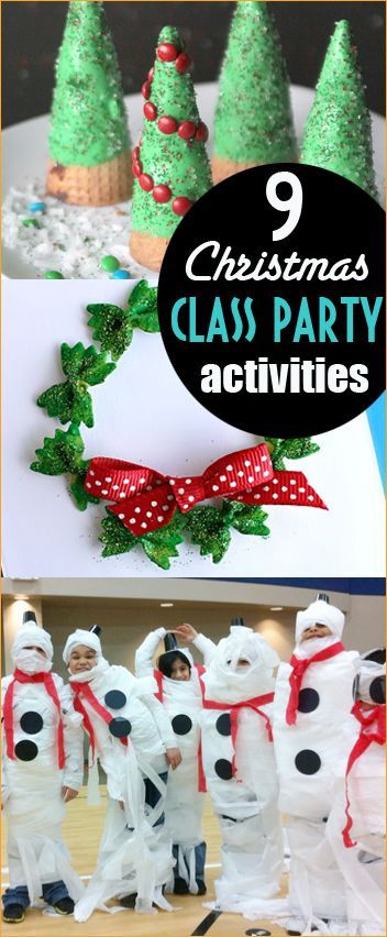 Christmas Class Party Ideas | Party games, Activities and Holidays