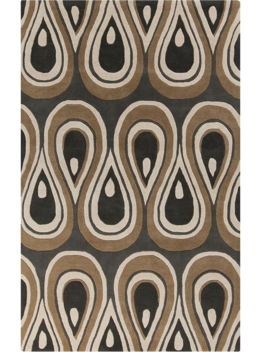This Goa Collection rug (G-5136) is manufactured by Surya. With an array of unique designs, Goa characterizes all you will ever want in a beautiful rug.