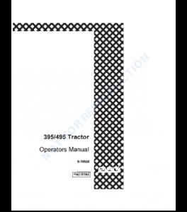 Best case ih 395 495 tractor operators manual download