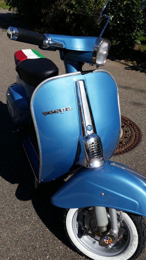Motor Scooters Vesta Bild Von Bill Sparks Schwalbe Moped