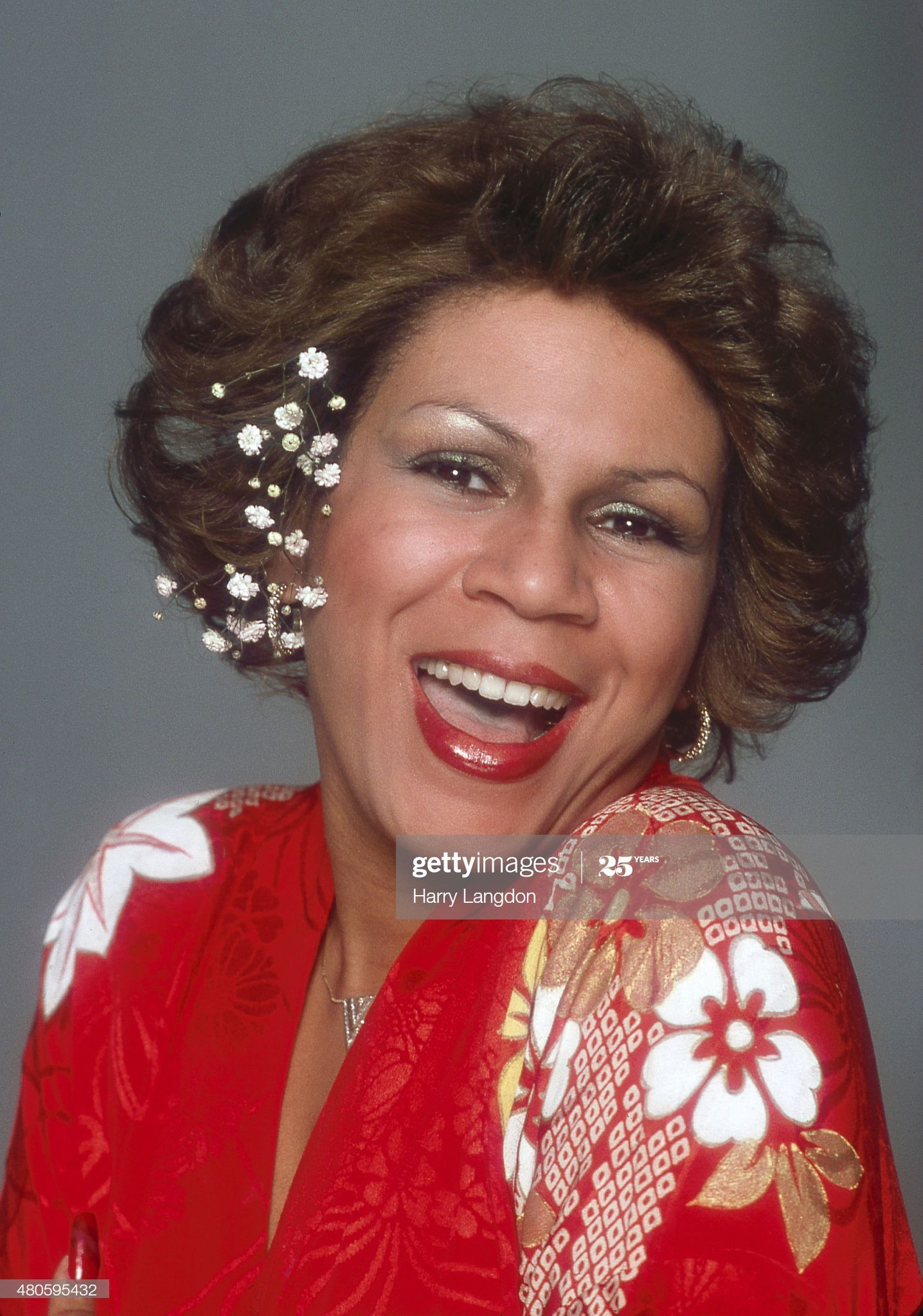 Singer Minnie Riperton poses for a portrait in 1977 in Los