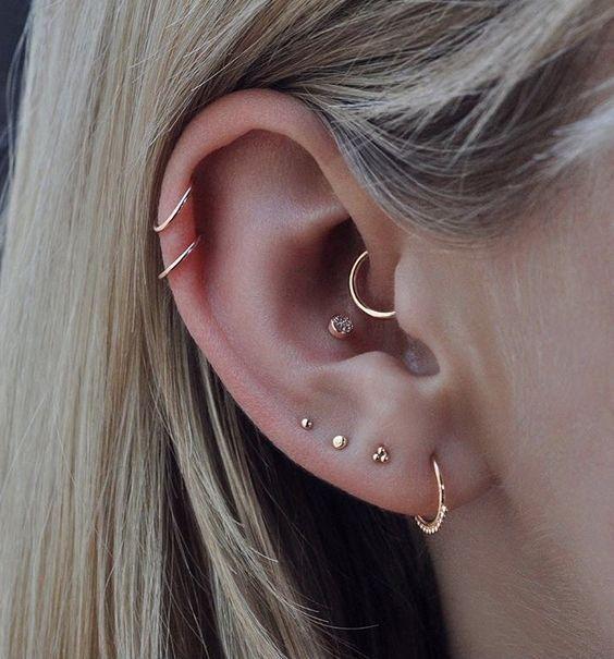 Ear Piercings Ideas for Girls