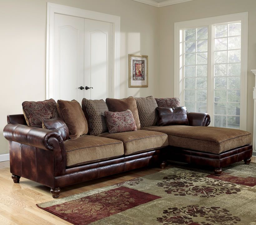 Room · Traditional Fabric Sectional By Ashley Furniture Chicago