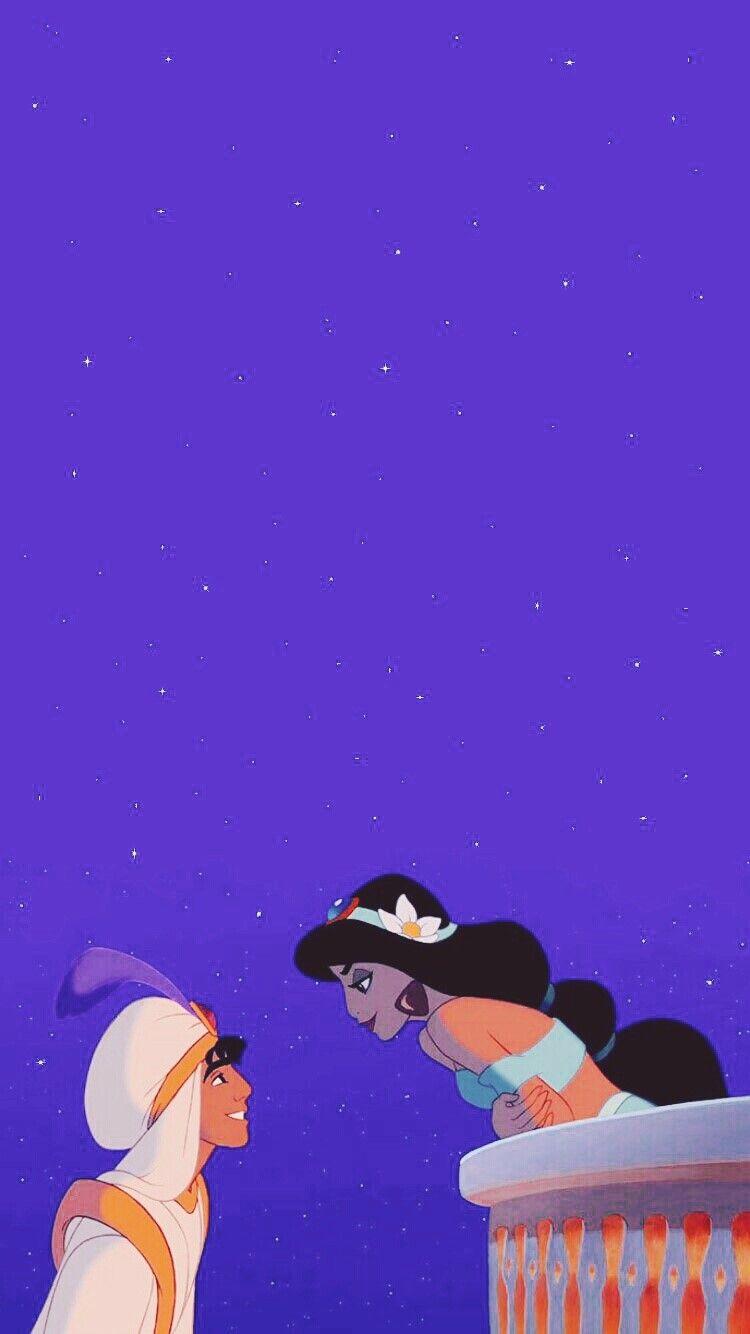 [아이폰 배경화면] #22 캐릭터 테마 :: 디즈니 알라딘