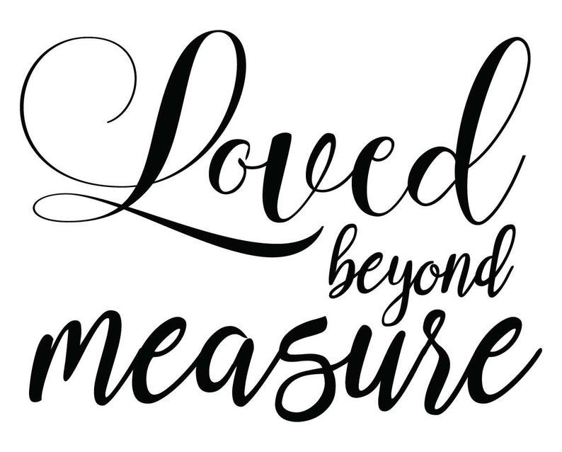 Download Growth Chart Ruler Add-On, Loved Beyond Measure SVG ...