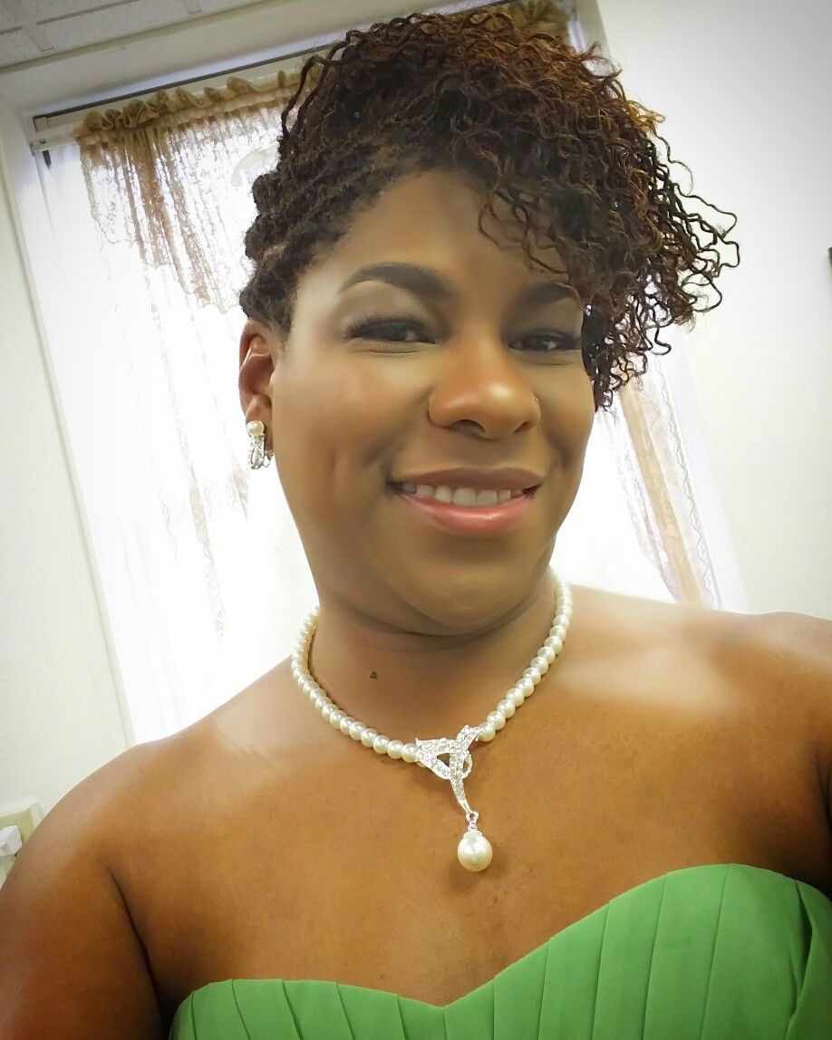 Updo Style For A Wedding On Short Sisterlocks Hair By Hairtyllc Makeup By Facethemakeupartist Hair Pictures Wedding Hairstyles Updo Styles