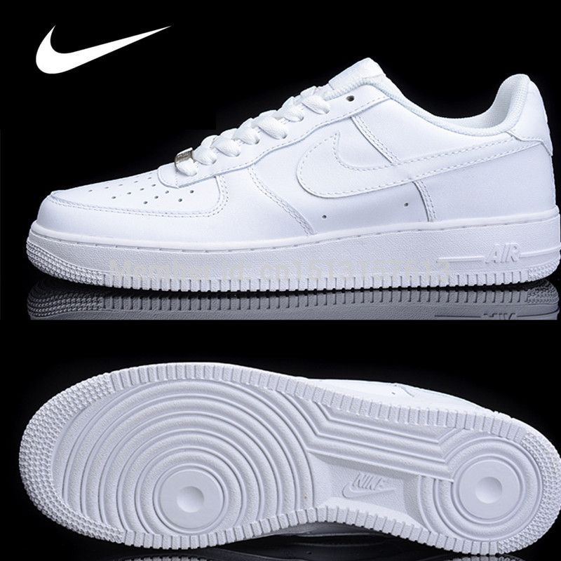 Free shipping hot sale NlKE Classic Air Force One 1 Women and Men shoes 0223e4293d