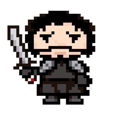 Pixel Jon Snow