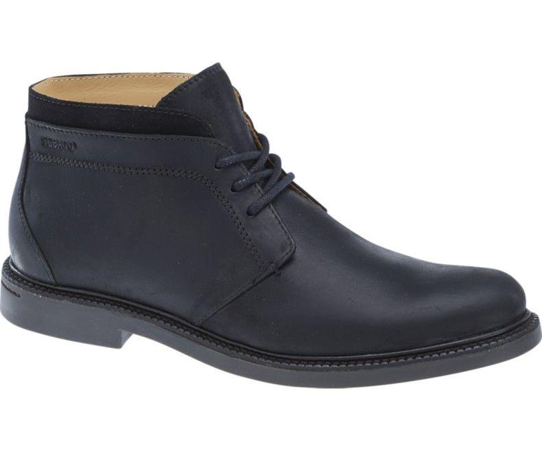 b7ceee488ba Sebago Drysides black lea waterproof | My Shoes | Boots, Shoes, Leather
