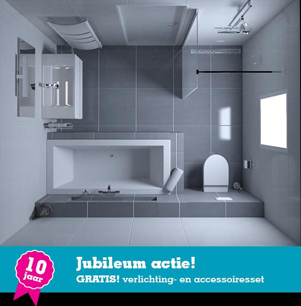 Badkamer Aqualounge Deluxe € 3495,- | Complete badkamers | Pinterest