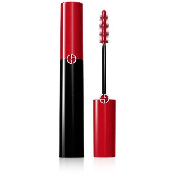 Giorgio Armani Eccentrico Mascara (£24) ❤ liked on Polyvore featuring beauty products, makeup, eye makeup, mascara, obsidian black, giorgio armani and giorgio armani mascara