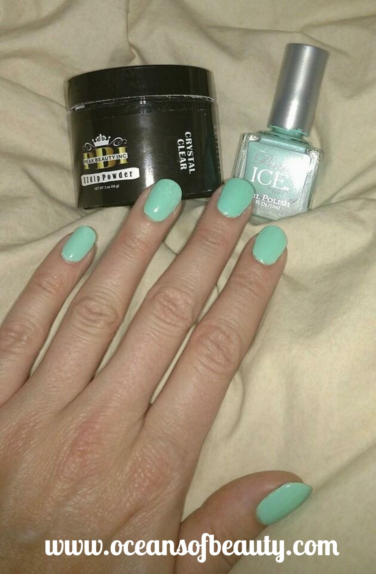Crystal Clear & Customer Polish. EZdip Gel Powder. DIY EZ Dip. No ...