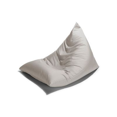 Twist Outdoor Bean Bag Chair Color White