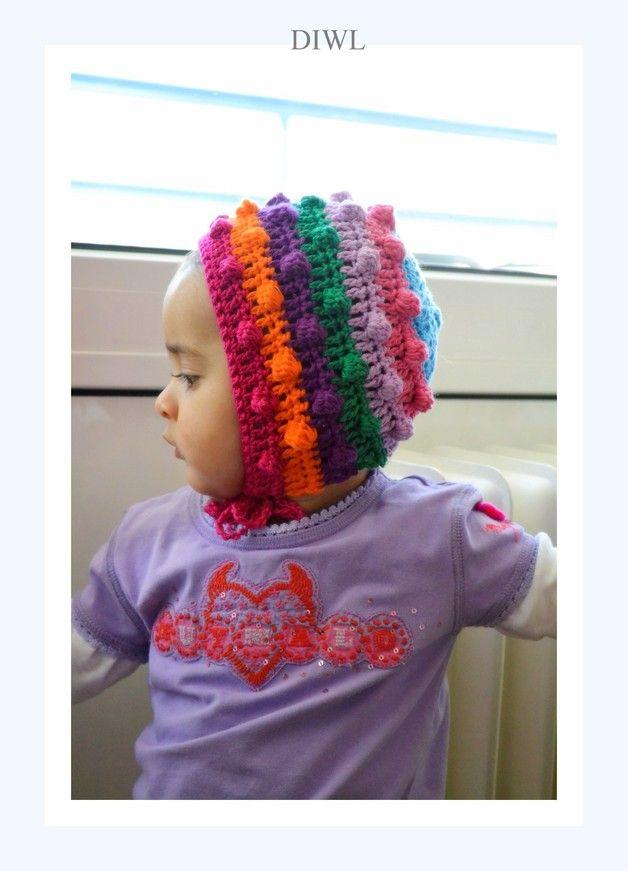 ❤ DIWL Baby Kinder Mütze Häkelanleitung ❤ | Kinder mützen, Baby ...