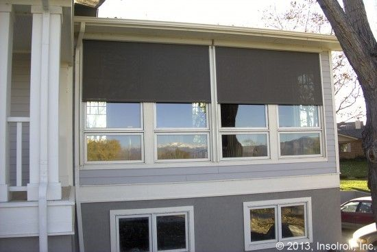 exterior roller shades for patio. oasis exterior roller shades reduce cooling costs control insects and heat glare on window for patio c