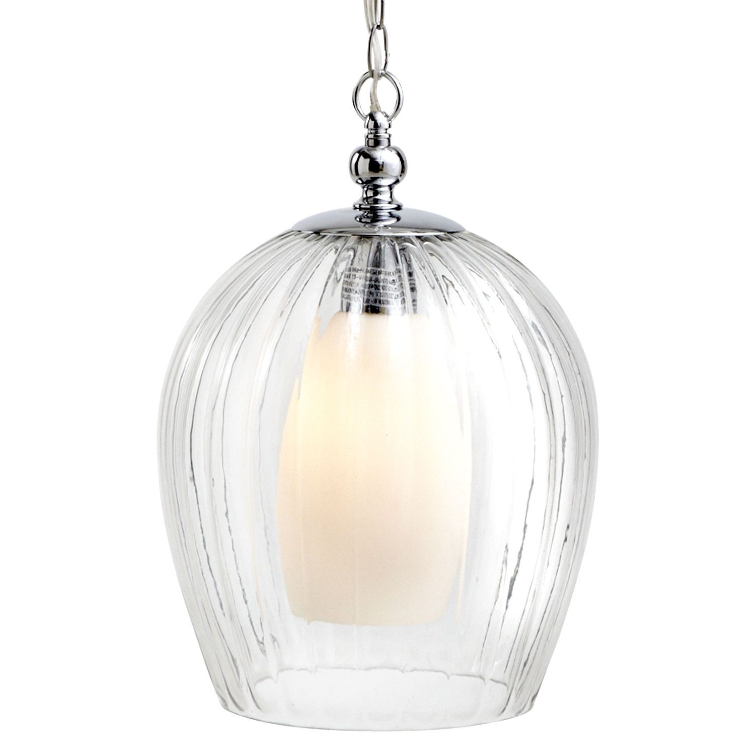 Fluted pendant light clear pier 1 imports