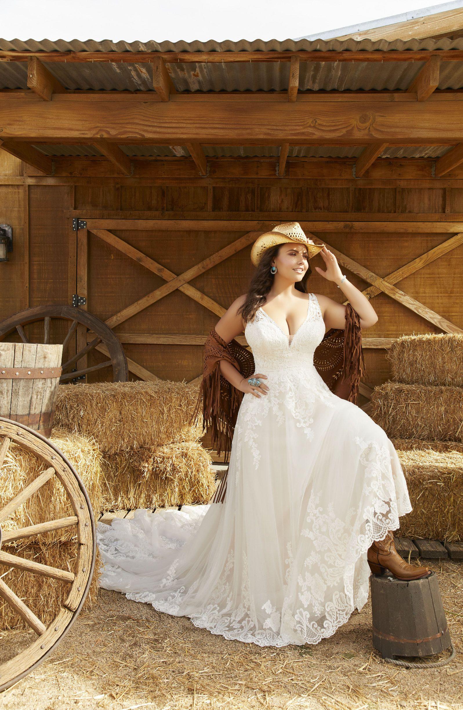 Morilee Plus size wedding dresses and curvy wedding