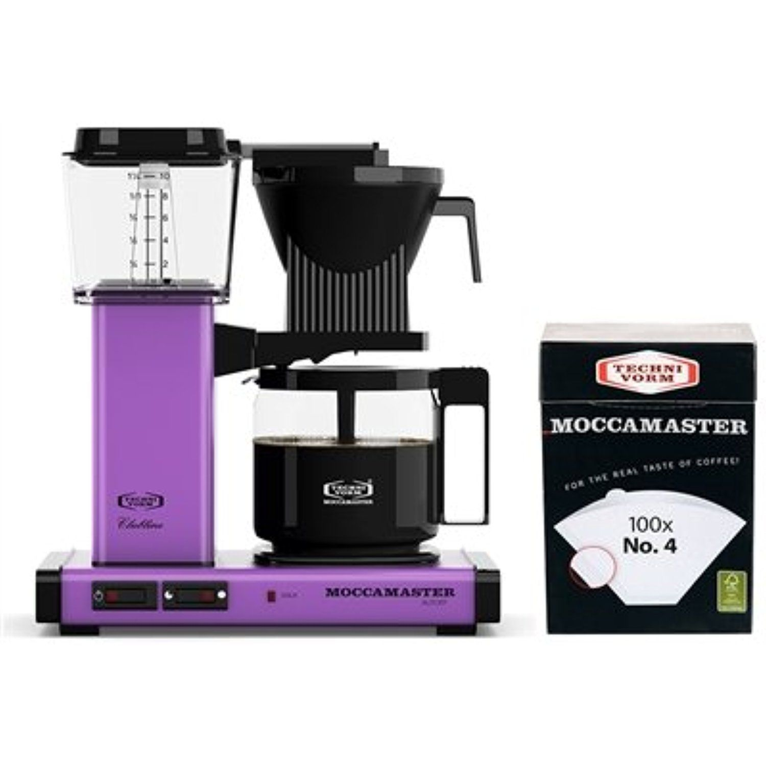 Technivorm Moccamaster KBG741 Coffee Brewer w/ No. 4