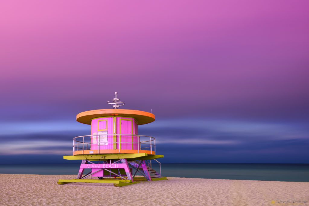 South Beach Miami Beach Lifeguard Tower South Beach