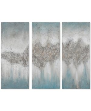 Coruscating Winter Glitter By Beverly Fuller Wrapped Canvas