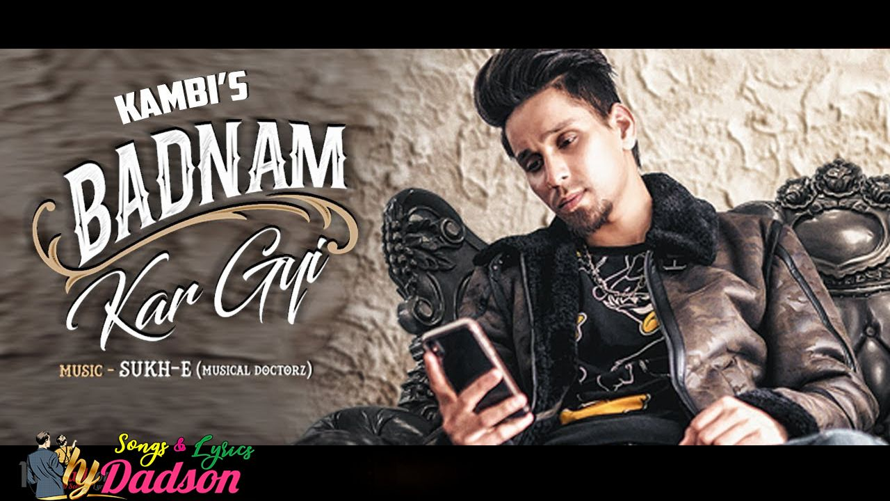 badnam song download geet mp3 pagalworld