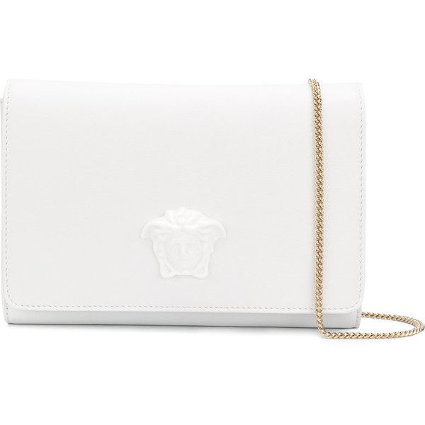 3303384c1af6 Versace Medusa clutch bag ( 966) ❤ liked on Polyvore featuring bags ...
