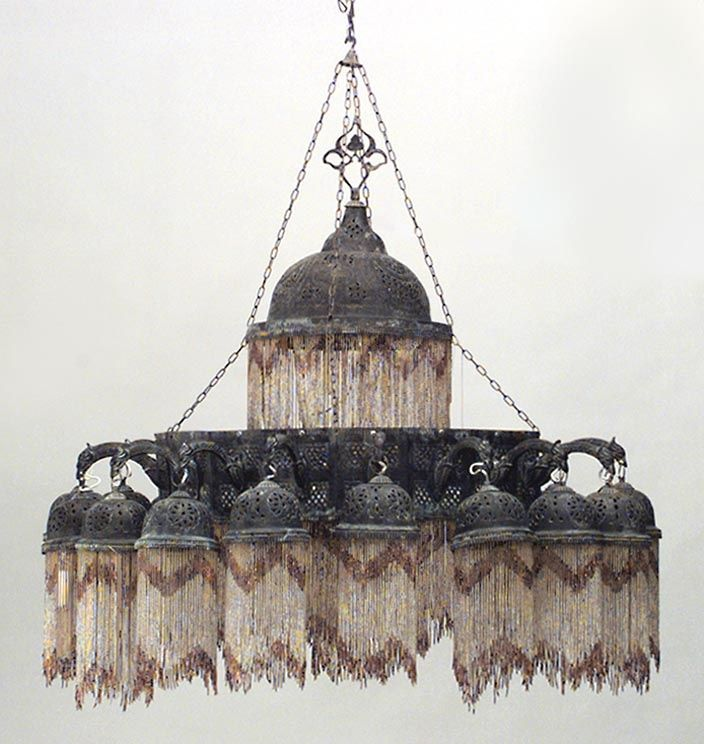 moorish chandelier | Middle Eastern Moorish/Syrian lighting chandelier ... | Moorish/Syrian