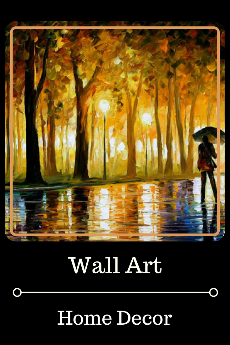 Rain Wall Art Oil Painting On Canvas By Leonid Afremov - Bewitched ...