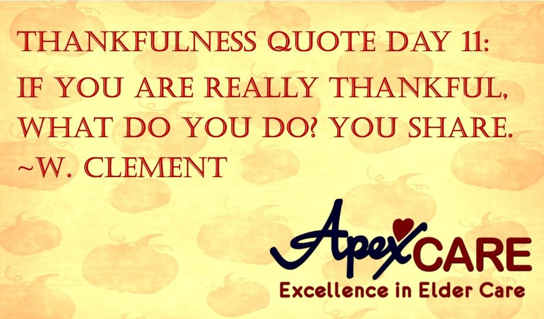 Thankfulness Quotes Thankfulness Quote Day 11 If You Are Really Thankful What Do You .