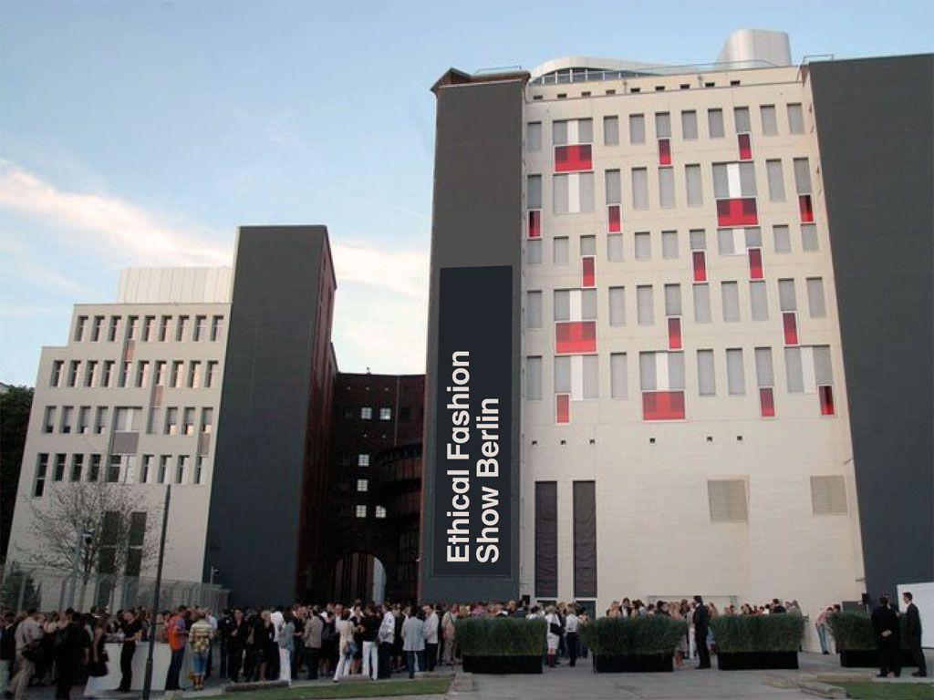 Ethical Fashion Show, Berlin:  part of Berlin's Fashion Week.