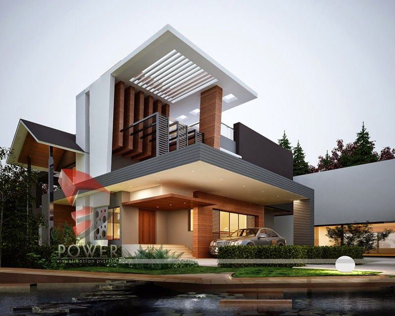 Ultra Modern Home Designs House 3d Interior Exterior Design Architectural Designs For Bungalows