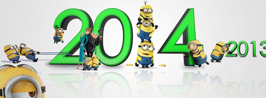 minion happy new year picture cover photos happy new year minions fb cover photo happy