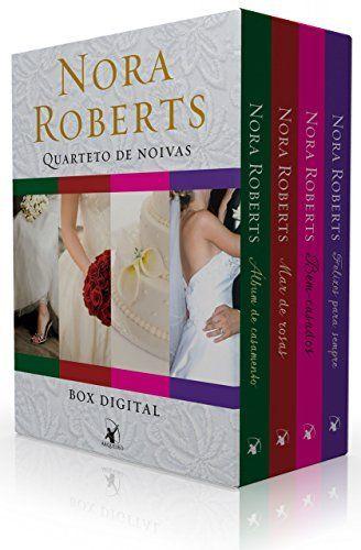 Box Quarteto de noivas: Série completa com os 4 títulos - Álbum de casamento, Mar de rosas, Bem-casados e Felizes para sempre por Nora Roberts, http://www.amazon.com.br/dp/B00PSQISX2/ref=cm_sw_r_pi_dp_TL8ewb15YVMTF