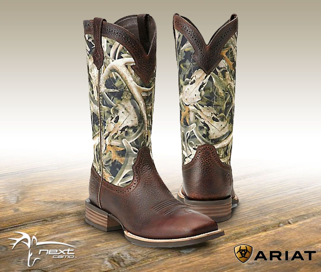 New Ariat Quick-Draw Boots in Bonz Camo Now Available | Next Camo ...