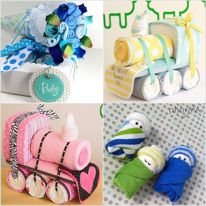 How To Make These Cute Baby Shower Gifts Baby Shower Ideas