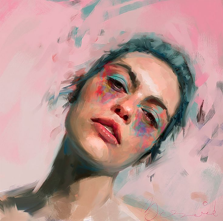 Expressive Female Portraits by Ivana Besevic – Inspiration Grid | Design Inspiration