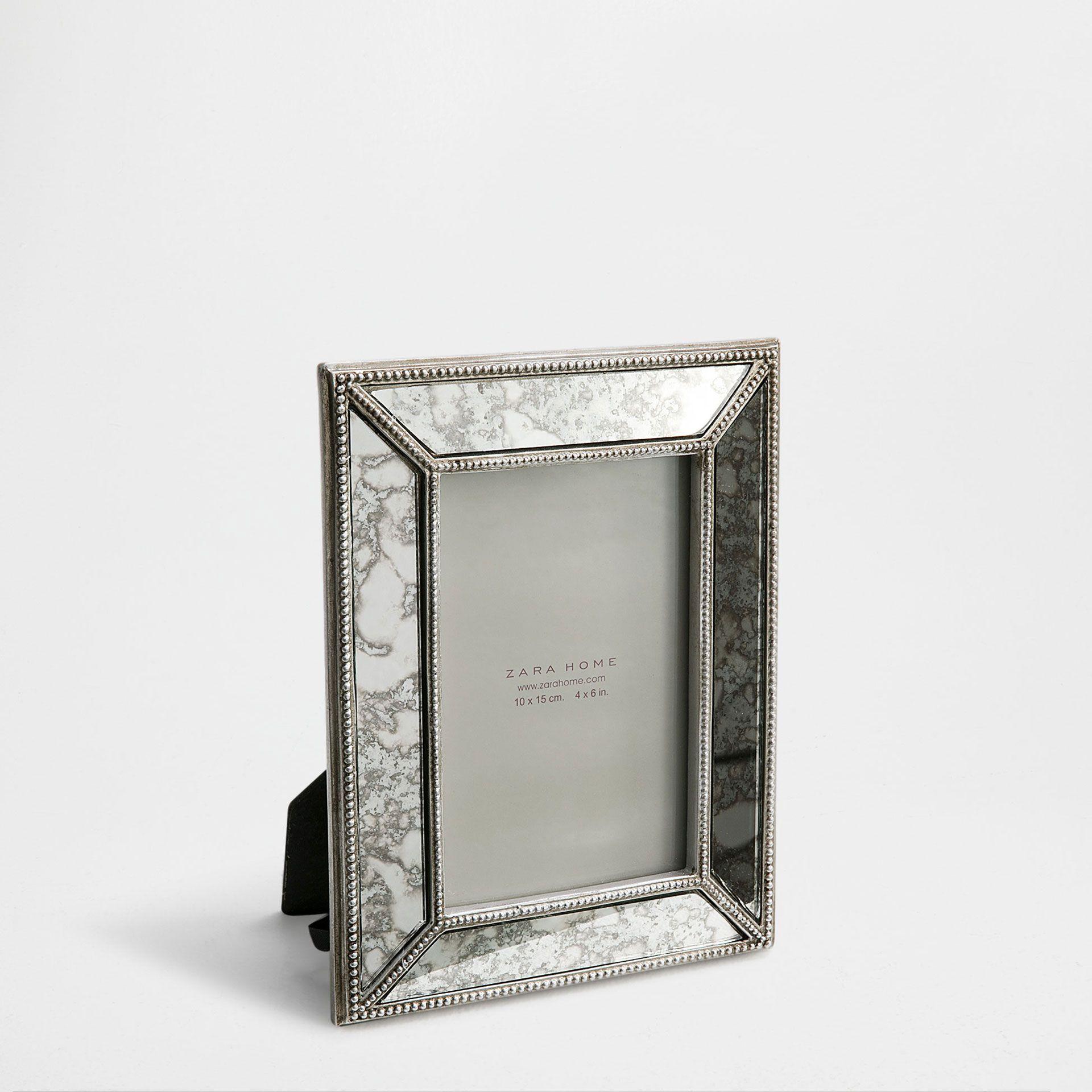 Mirrored Antique Finish Frame  Frames  Decoration - Zara Home