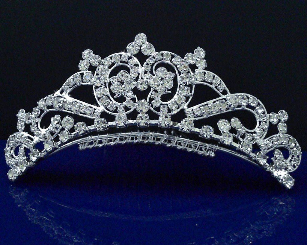 b688d447ba4998 SC Tiara Comb With Three-Crystal Center 57235 | Crowns n Tiaras ...